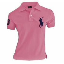Kit 3 Camisas Polo Ralph Lauren Feminina Envio Imediato