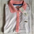 Camisa Polo Lacoste Feminino - Made In Peru