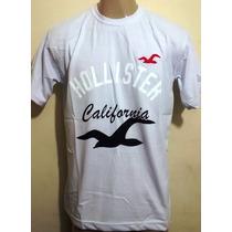 Kit C/10 Camisetas Hollister - Oakley - Quiksilver R$ 130,00