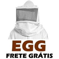 Macacão Apicultor Egg Em Brim + Fumigador