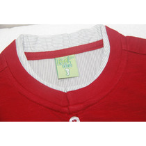 Camisa Vermelha Infantil Pool Kids Nº 3