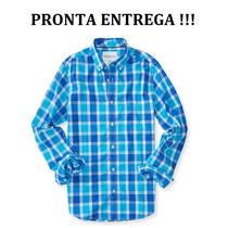 Camisa Social Aeropostale Xadrez -já No Brasil