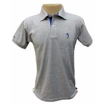 Camisa Polo Aleatory Cinza