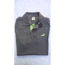 Camisa Polo Hollister Tamanho P