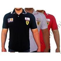 Camisa (camiseta) Polo Tecido Piquet Confort Gola Dupla