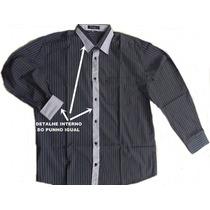 Camisa Casual Slim Fit -808 Pronta Entrega !! Frete Grátis!!