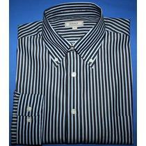 Camisa Social Gant Elliot Listrada Regular Fit Tam. M