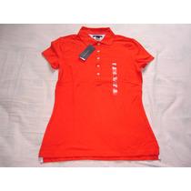 Blusa Polo Tommy Hilfiger: Tamanho M Feminina Promoção