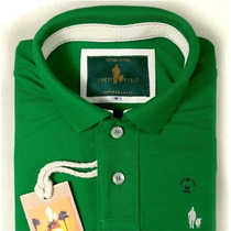 Polo Masculino Camisa S&f Polo Sheepfyeld, Qualid. De Import