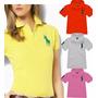 Camisa Camiseta Polo Basic Feminina Tommy/ Ralph/ Hollister