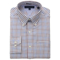 Camisa Social Esporte Fino Tommy Hilfiger Xadrez Eg