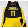 Uniforme Basquete Jamaica Numero 11 Pronta Entrega -lindo