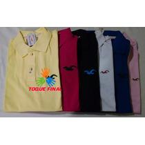Camisa Gola Polo Hollister Masculina