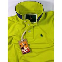 Camisa Polo Piquet Masculina (frete Grátis) Varias Cores