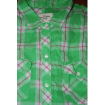 Camisa Abercrombie&fitch New York Tam L