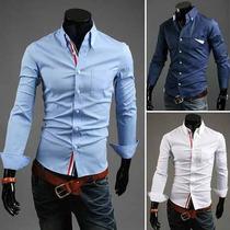 Camisa Social Slim Fit + 140 Novos Modelos- Menor Preço