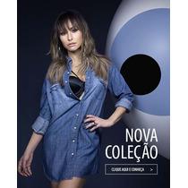 Sawary Camisão Jeans
