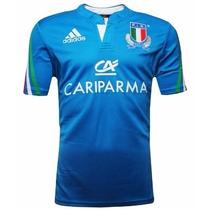 Camisa Seleção Da Italia De Rugby Adidas Importada Ggg