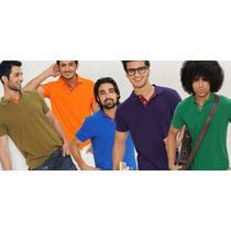 Camisa Polo Masculina Atacado 3 Peças Marcas - Compre Online