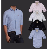 Camisa Social Hollister Polo Ralph Abercrombie Fitch Af Hco