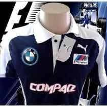Camisa Bmw Williams F1 Team ( Compaq)polo Confira .