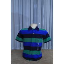 Camisa Polo Tommy Hilfiger - Tam. 8 Anos - Menino - Original