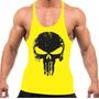Camiseta Regata Super Cavada P/ Musculação Justiceiro