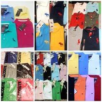 Kit 10 Camisas Polo Masculina Atacado Diversas Marcas!