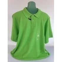 Camiseta Polo Marca Club Room Verde-limao Tam G Dos Usa