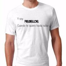 Camisa Rbd - Rebelde