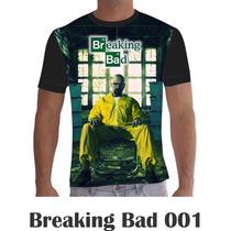 Camisa Camiseta Séries Personalizada Breaking Bad