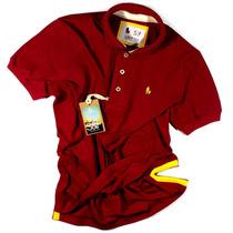 Camiseta Polo Masculina S&f, Qualidade De Importada 2161817