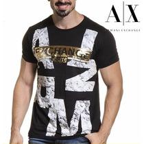 T Shirt Armani Exchange Original Masculina Camiseta Sem Juro