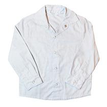 Camisa Manga Longa Xadrez Cinza-tyrol