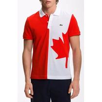 Camisa Polo Países - Canadá