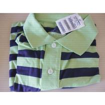 Camisa Pólo Colombo Verde Claro-nova Na Embalagem.