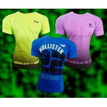 Lote 10 Camiseta Kit Atacado Hollister Nike Adidas Tomy Polo