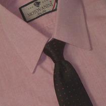 Camisa Social Slim Fit 100% Algodão Fio 50 Extra 51 1006