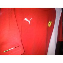Camisa Ferrari Puma - Tam M - P/ Colecionador