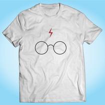 Camisa Harry Potter Óculos Cicatriz