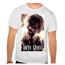 Camisa Tokyo Ghoul Anime Desenho