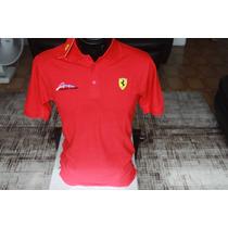 Camisa Importada Ferrari Fernando Alonso - Tam.: P