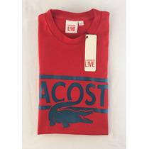 Camisa Camiseta Masculina Lacoste Original Pronta Entrega