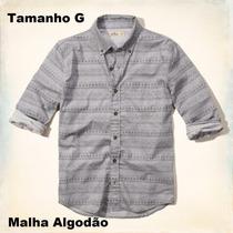 Camisas Social Roupas Blusas Manga Hollister 100% Original