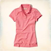 Camisa Camisetas Pólo Feminina Hollister Abercrombie & Fitch