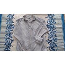 Camisa Azul Masculina Importada Banana Republic 67x77 Tam Xl