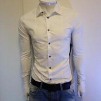 Camisa Social Masculina Slim Fit Ecko Luxo - Hollister