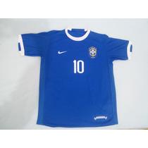 Camisa Seleção Brasileira - Ronaldinho #10