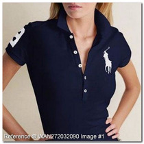 Polo Feminina Abercrombie Hollister Lacoste Tommy Camiseta