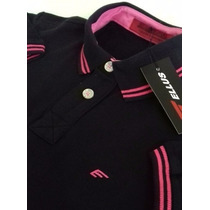 Camiseta Camisa Polo Ellus/tommy Com Lycra - Made In Peru